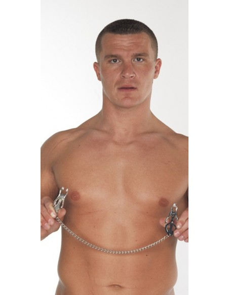 Nipple clamps with chain