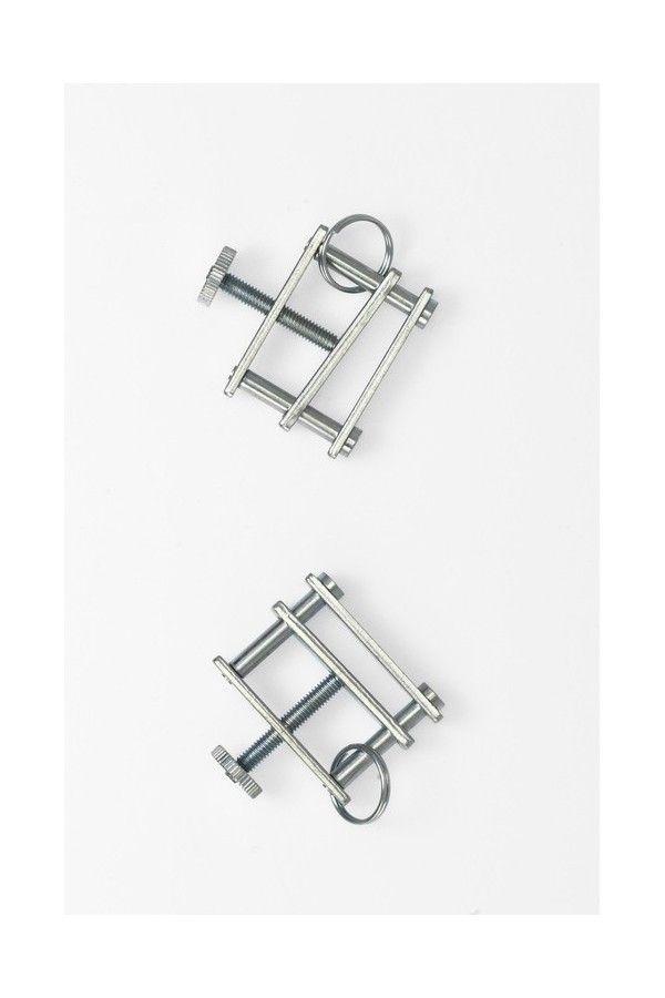 Adjustable nipple clamps (pair)