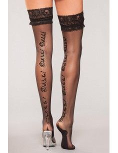 """STOCKINGS WITH LACE & """"Ooh..."""