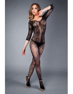 BODYSTOCKING WITH WIDE...