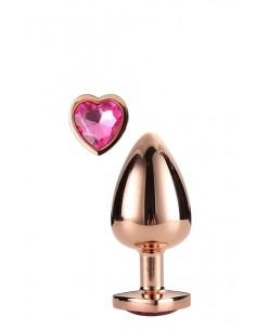LOVE PLUG ROSE GOLD M