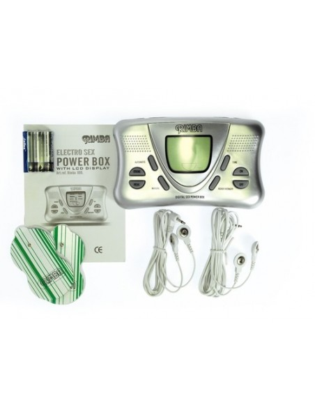 Rimba - Electro powerbox set with LCD display