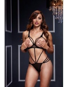 STRAPPY BODYSUIT W/ OPEN...