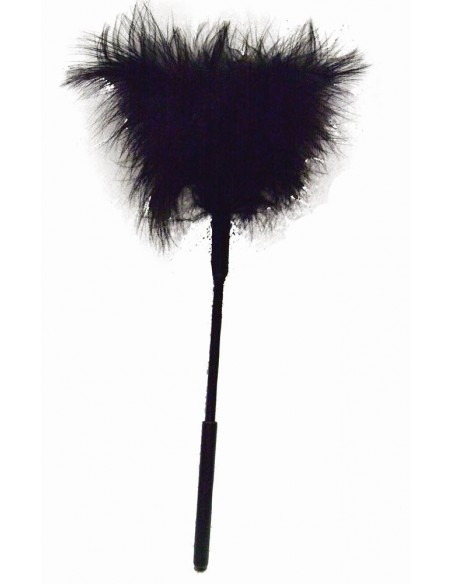 S M FEATHER TICKLER BLACK
