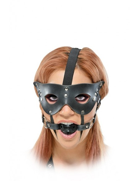 FF MASQUARADE MASK AND BALL GAG