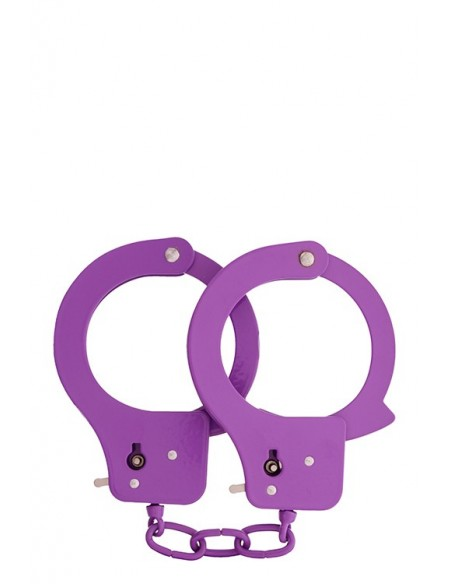 BONDX METAL CUFFS - PURPLE